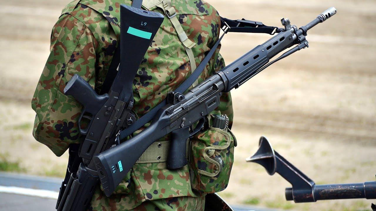 自衛隊装備にピッタリな銃は?