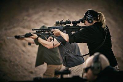 射撃時の姿勢について